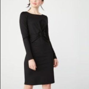 RW & Co. Black Long Sleeve Party Dress